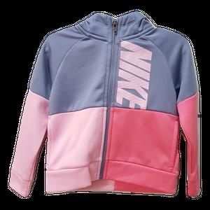 NIKE- ג'קט מסדרת DRI-FIT בצבע ורוד אפור