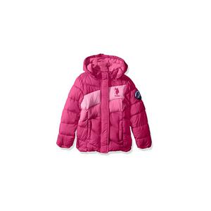 U.S POLO- מעיל מחמם במיוחד בצבע ורוד
