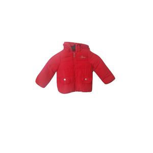 GUESS- מעיל פוף אדום אלגנטי לקטנטנות