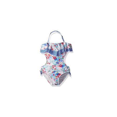 JESSICA SIMPSON- בגד ים בנות צבעוני