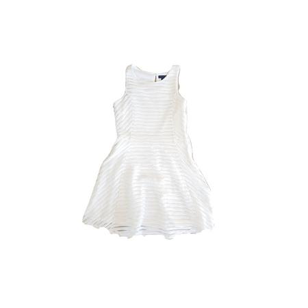 שמלה מהממת לבנה מחוייטת לאירוע מבית המותג טומי הילפיגר