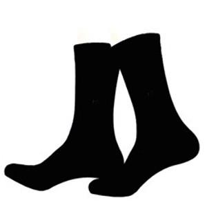 10 זוגות גרבי ספורט לגבר מכותנה