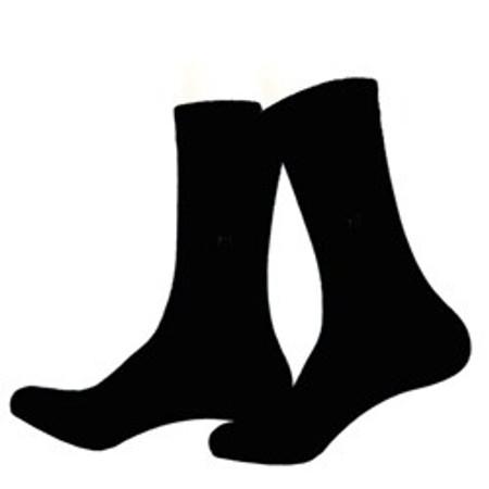 12 זוגות גרבי ספורט לגבר מכותנה
