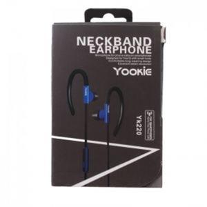 אוזניות איכותיות לשמיעת מוזיקה בשילוב דיבורית YOOKIE - מותאם לכל סמארטפון