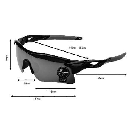 משקפי שמש מסננות קרינה מעולה לרוכבי אופניים ולפעילות ספורט