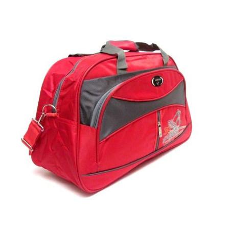 תיק ספורט גדול וחזק לחדר כושר צבע אדום