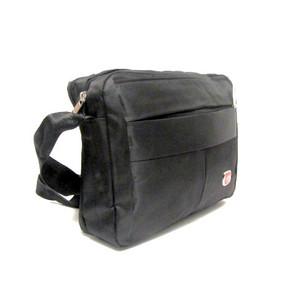 תיק צד גדול איכותי לגבר שימושי לנסיעות / מסמכים / טאבלט / נייד קטן