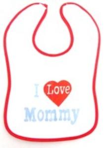 סינר איכותי עם סגרית סקוץ' I LOVE MOMMY