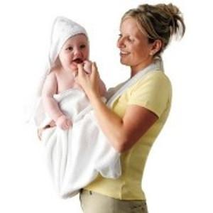 מגבת רחצה קפוצ'ון לתינוק עם דמויות שילדים אוהבים