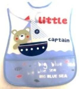 סינר איכותי ומיוחד לתינוק בשילוב כיס ועם דמויות שילדים אוהבים דוחה כתמים