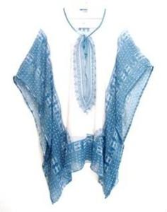 חולצה / שמלה בסגנון עטלף מבד שיפון משובח מעולה לימי קיץ ולים