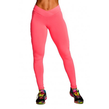 מכנס טייץ ספורט דרייפיט מנדף זיעה למידות גדולות  - גזרה גבוה