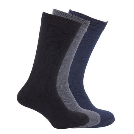 3 זוגות גרביים תרמיות / טרמיות לגבר לבידוד מקור