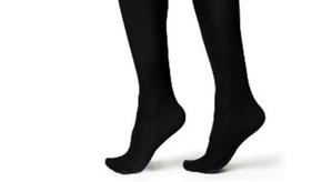 3 זוגות גרביים תרמיות / טרמיות עד הברך דגם לנשים - לבידוד מקור