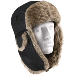 כובע חורף תרמי פרוותי נגד גשם לשמירת חום בפנים במבחר צבעים