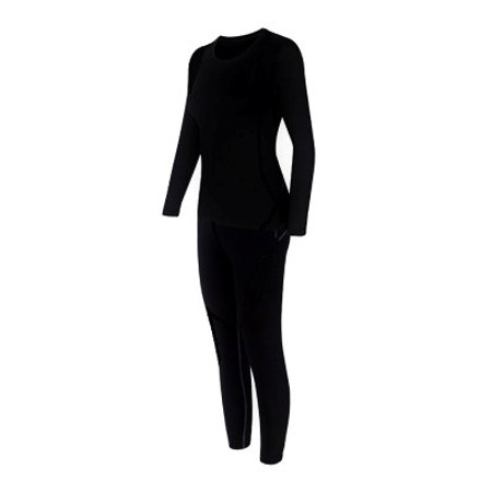 סט ביגוד תרמי / טרמי לחורף הקר לאישה -מכנס תרמי+ חולצה תרמית לבידוד מקור קיצוני במבחר מידות