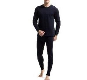 סט ביגוד תרמי / טרמי לחורף הקר לגבר מכנס+חולצה לבידוד מקור קיצוני