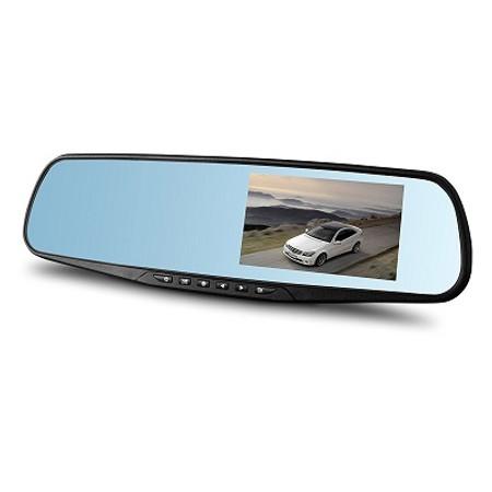 מצלמה לרכב FULL HD1080 DVR - בשילוב מראה איכותית