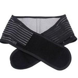 חגורת גב אורטופדית לשיכוח כאבי גב תחתון בשילוב מגנטים רפואיים וטרמולין