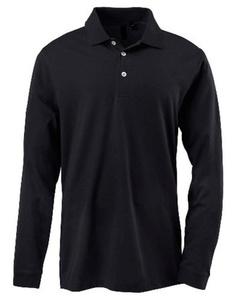 חולצת פולו לגבר שרוול ארוך 100% כותנה איכותית - למידות גדולות