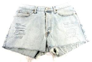 מכנס ג'ינס קצר למראה סקסי למשים תואם מידות L-XL