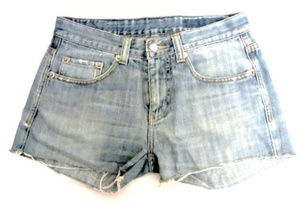 מכנס ג'ינס קצר לנשים תואם למודת M-L