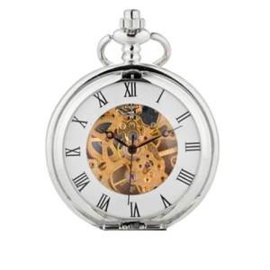 שעון כיס מרשים ואיכותי במראה קלאסי לגבר - ספרות רומיות