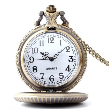שעון כיס מרשים ואיכותי במראה קלאסי לגבר - ספרות רגילות