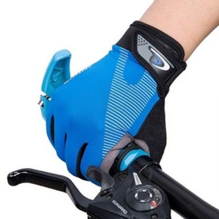 זוג ככפות רכיבה מנדפות זיעה ומנעות החלקה לרכיבת אופניים