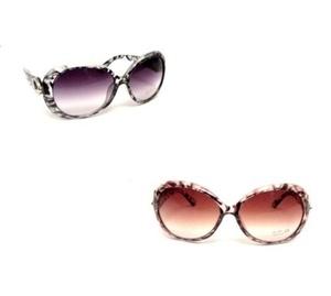 2 משקפי נשים איכותיות מסננות קרינה 400UV