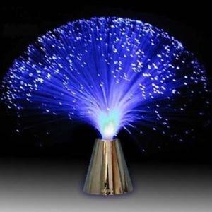 מנורת סיבים אופטיים איכותית ליצירת אוירה מיוחדת