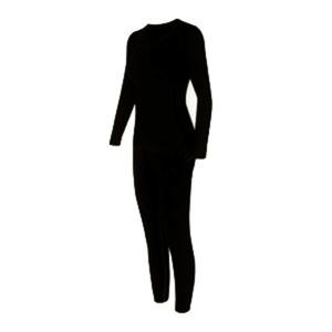 סט ביגוד תרמי / טרמי לחורף הקר לאישה מכנס תרמי+ חולצה תרמית לבידוד מקור קיצוני במבחר
