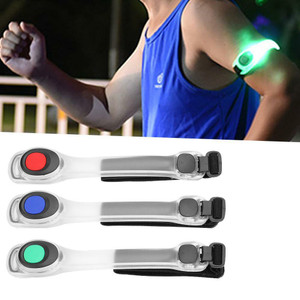צמיד תאורת לד בטיחותית לזרוע היד / רגל לבטיחות מרבית
