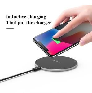 מטען אלחוטי לטעינה מהירה לכמה מכשירי סמארטפון במקביל Wireless Charger - מותאם לכל סוגי הסמארטפון