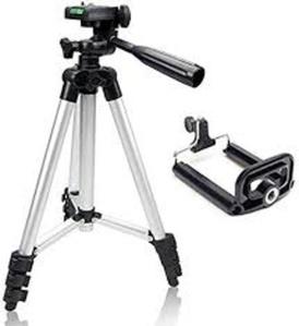 חצובה מקצועית עם יכולת הגבהה / הקטנה לצילום נוח ואיכותי סמארטפון / מצלמה