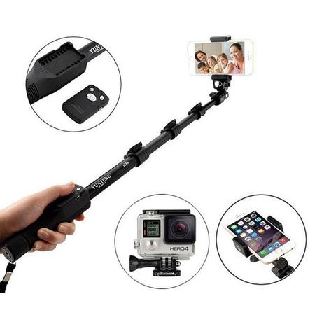מוט סלפי אלחוטי לצילום איכותי+ שלט בלוטות' Wireless Selfi Stick