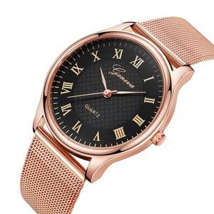 שעון אופנתי לאישה קלאסי - ספרות רומיות