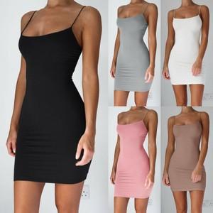שמלה מחטבת לפי גזרת הגוף  - דגם אל תפר במבחר צבעים
