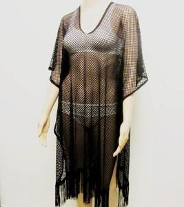 שמלת טוניקה איכותית לחוף הים ולבריכה למידות גדולות - מגע גוף נעים ולנוחיות