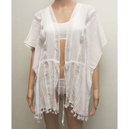 חולצת קשירה אוטנטית מתחת לבגד ים מעולה לים / בריכה מכותנה איכותית