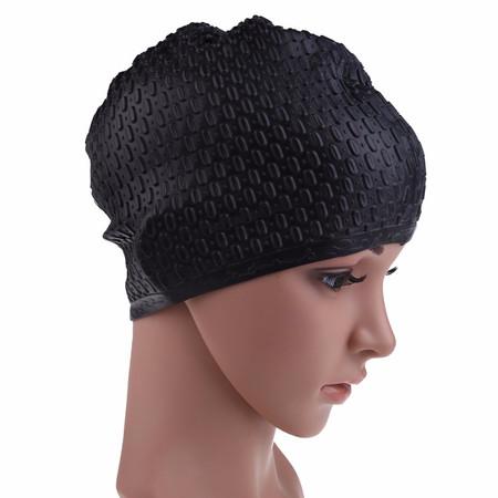 כובע שחיה איכותי לנשים מסילקון