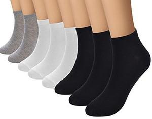 12 זוגות גרבי ספורט מכותנה לנידוף הזיעה לנשים / גברים