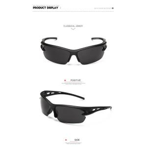 משקפי שמש לספורט מסננות קרינה 400UV מעולה לרוכבי אופניים וספורט קיץ