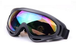 משקפי סקי גוגל / מסיכת סקי מקצועיות מסנן קרינה 400UV ומונע אדים