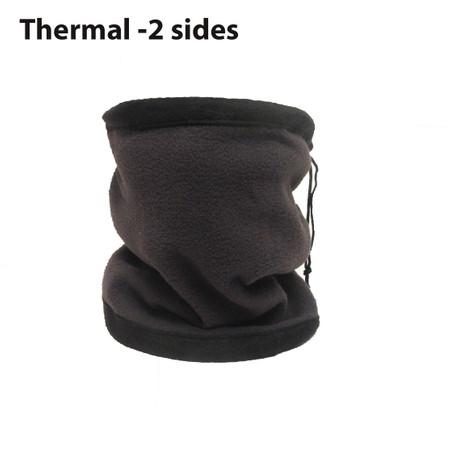 חם צוואר תרמי ואופנתי 2 שכבות לחימום מרבי - Two Size