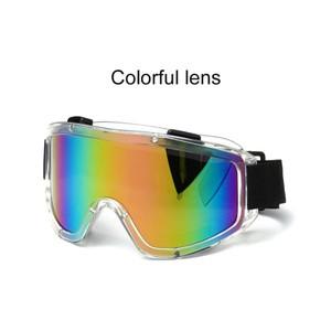 משקפי סקי / גוגל סקי למבוגרים - מקצועיות מסננות קרינה 400UV ומונע אדים