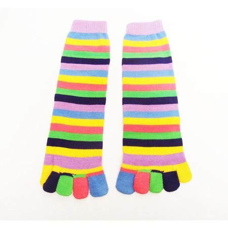 2 זוגות גרבי אצבע צבעוניות לנשים