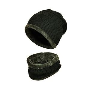 חם צוואר פרוותי בשילוב כובע פרוותי - לקור קיצוני במבחר צבעים UNISEX