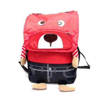 תיק גב מרופד לגן ילדים בדמות כלב במבחר צבעים