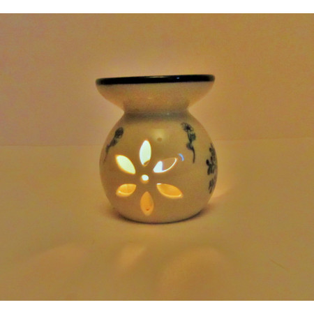 עשישית / מבער לשמן ארומטי - עשוי קרמיקה